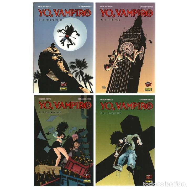 CÓMICS. YO, VAMPIRO. PACK DE 4 NÚMEROS.- CARLOS TRILLO/EDUARDO RISSO DESCATALOGADO!!! OFERTA!!! (Tebeos y Comics - Norma - Comic Europeo)