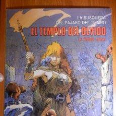 Cómics: COMIC - LA BÚSQUEDA DEL PÁJARO DEL TIEMPO - 2.- EL TEMPLO DEL OLVIDO - CIMOC EXTRA COLOR 25 -. Lote 144809166