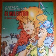 Cómics: COMIC - LA BÚSQUEDA DEL PÁJARO DEL TIEMPO - 3.- EL MAESTRO - CIMOC EXTRA COLOR 35 -. Lote 144809234