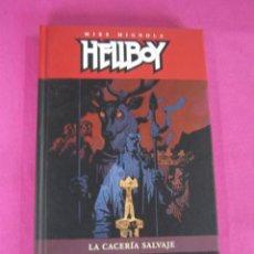 Comics - HELLBOY LA CACERIA SALVAJE TOMO 12 EXCELENTE ESTADO - 145053018