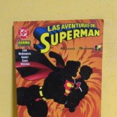 Cómics: LAS AVENTURAS DE SUPERMAN MUNDOS EN GUERRA TOMO 2 NORMA EDITORIAL. Lote 145301818