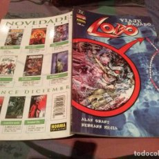Comics : LOBO Nº 11 - VIAJE RAJADO - NORMA EDITORIAL. Lote 145529018