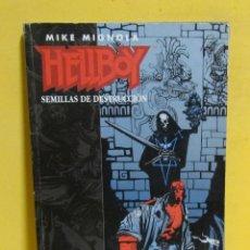 Cómics: HELLBOY -MIKE MIGNOLA- SEMILLAS DE DESTRUCCION NORMA EDITORIAL RETAPADO DEL Nº 1 AL Nº 4 AÑO 1994. Lote 145537046