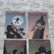 Cómics: YO, VAMPIRO 1 A 4, DE EDUARDO RISSO Y CARLOS TRILLO. Lote 145703858