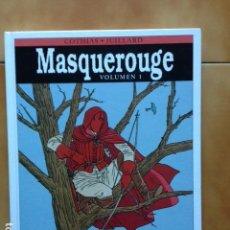 Cómics: INTEGRAL MASQUEROUGE VOLUMEN 1 DE PATRICK COTHIAS Y ANDRE JUILLARD - NORMA. Lote 158588394