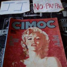 Cómics: CIMOC NUMERO EXTRA 3 ESPECIAL EROTISMO VER FOTOS ARRUGAS EN EL LOMO Y ALGUNA MANCHA. Lote 145812062