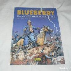 Cómics: LA JUVENTUD DE BLUEBERRY Nº 40 LA SENDA DE LOS MALDITOS NORMA EDITORIAL 2ª EDICIÓN. Lote 145953386