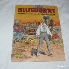 Cómics: LA JUVENTUD DE BLUEBERRY Nº 41 ULTIMO TREN HACIA WASHINGTON NORMA EDITORIAL 2ª EDICIÓN. Lote 145954310
