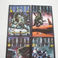 Cómics: ALIENS - NIDO - COMPLETA NORMA COMICS BOOKS 1993 // JERRY POSSER KELLEY JONES . Lote 145981162