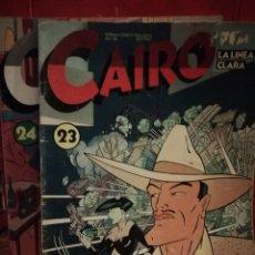 Cómics: CAIRO NUMEROS 23 Y 24. Lote 146143730