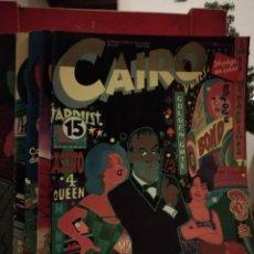 Cómics: CAIRO NUMEROS 15, 16, 17, 18 Y 19. Lote 146144502