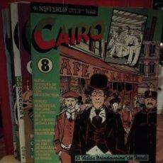 Cómics: CAIRO NUMEROS 8, 9 ,10, 11, 12, 13 Y 14. Lote 146144842