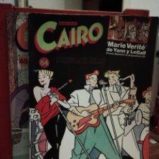 Cómics: CAIRO NUMEROS NUMEROS 64 Y 65. Lote 146147290