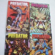 Cómics: PREDATOR - SERIE NOSTROMO COMPLETA 4 NUMEROS NORMA COMIC BOOKS 1991. Lote 165927009