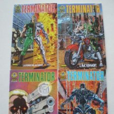 Cómics: TERMINATOR - ¡ANIQUILACION! - COMPLETA 4 NUMEROS NORMA 1991 // JOHN ARCUDI CHRIS WARNER. Lote 146241718