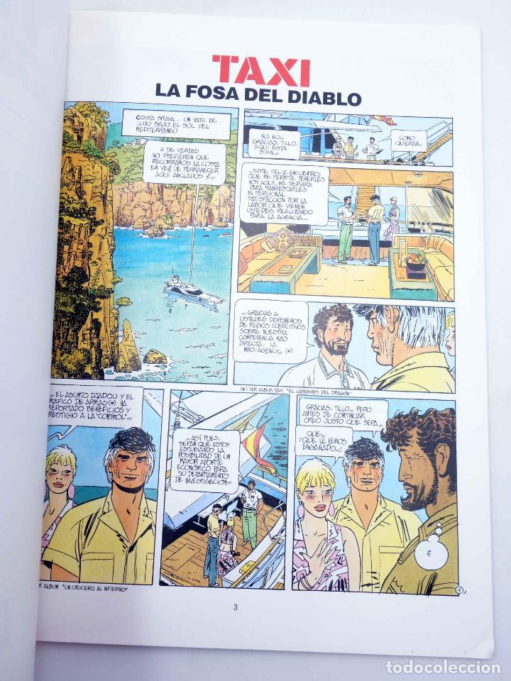 Cómics: CIMOC EXTRA COLOR 78. TAXI 3. LA FOSA DEL DIABLO (Alfonso Font) Norma, 1991. OFRT - Foto 3 - 152016653