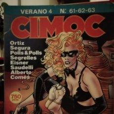 Cómics: CIMOC RETAPADO VERANO 4 CONTIENE LOS NUMEROS 61, 62 Y 63. Lote 146417926