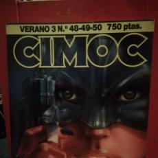 Cómics: CIMOC RETAPADO VERANO 3 CONTIENE LOS NUMEROS 48, 49 Y 50. Lote 146418954