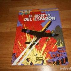 Cómics: LAS AVENTURAS DE BLAKE Y MORTIMER 9 EL SECRETO DEL ESPADON NORMA TOMO 1 PERFECTO. Lote 146492278