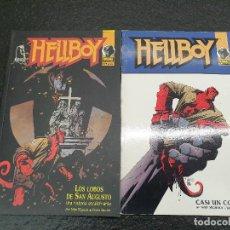 Cómics: HELLBOY DE MIKE MIGNOLA. LOS LOBOS DE SAN AUGUSTO Y CASI UN COLOSO. (ENVÍO 4,31€). Lote 146598922