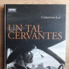 Cómics: UN TAL CERVANTES, CHRISTIAN LAX. Lote 146995666