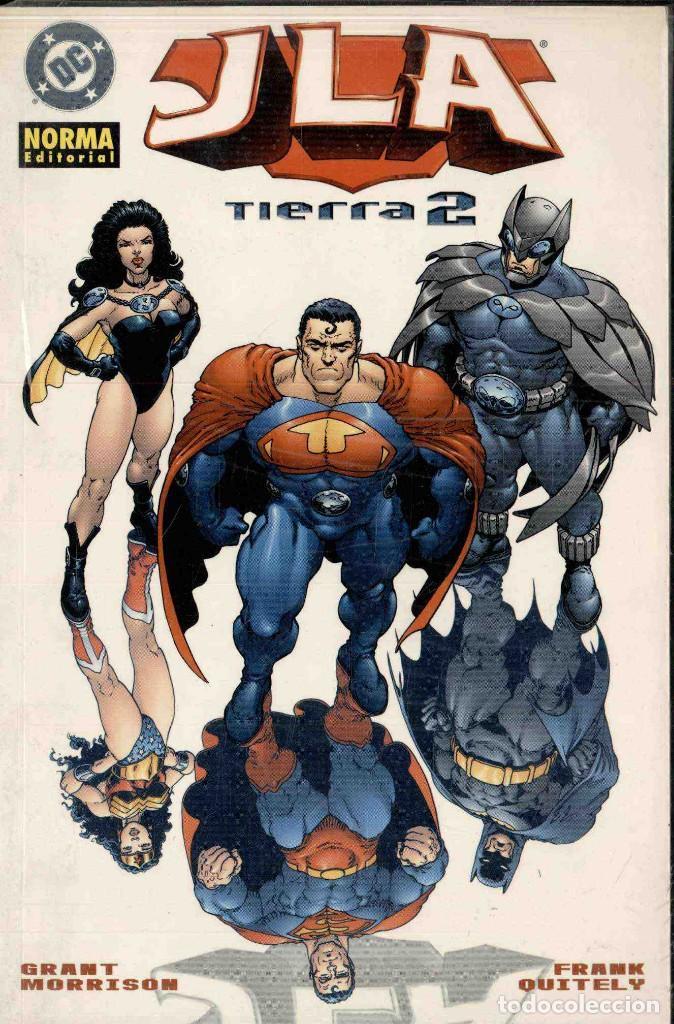 JLA, TIERRA 2 (Tebeos y Comics - Norma - Comic USA)