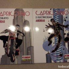 Cómics: CAPRICORNIO, ANDREAS, 2 TOMOS (COMPLETO), COLECCIÓN CIMOC EXTRA COLOR. Lote 147006162