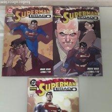 Cómics: SUPERMAN LEGADO 1, 2 Y 3. COMPLETA. NUEVA. DC NORMA. Lote 147390833