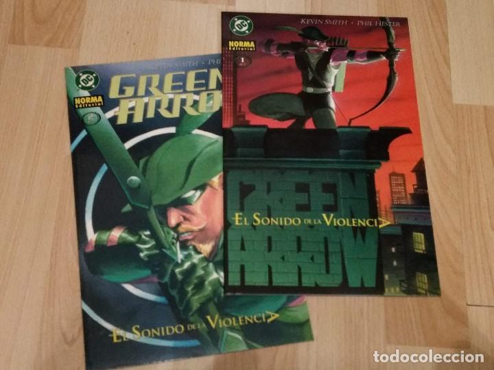 Cómics: Green Arrow de Kevin Smith de Norma editorial miniseries Carcaj (5 nºs) y El sonido de la violencia - Foto 2 - 147489414