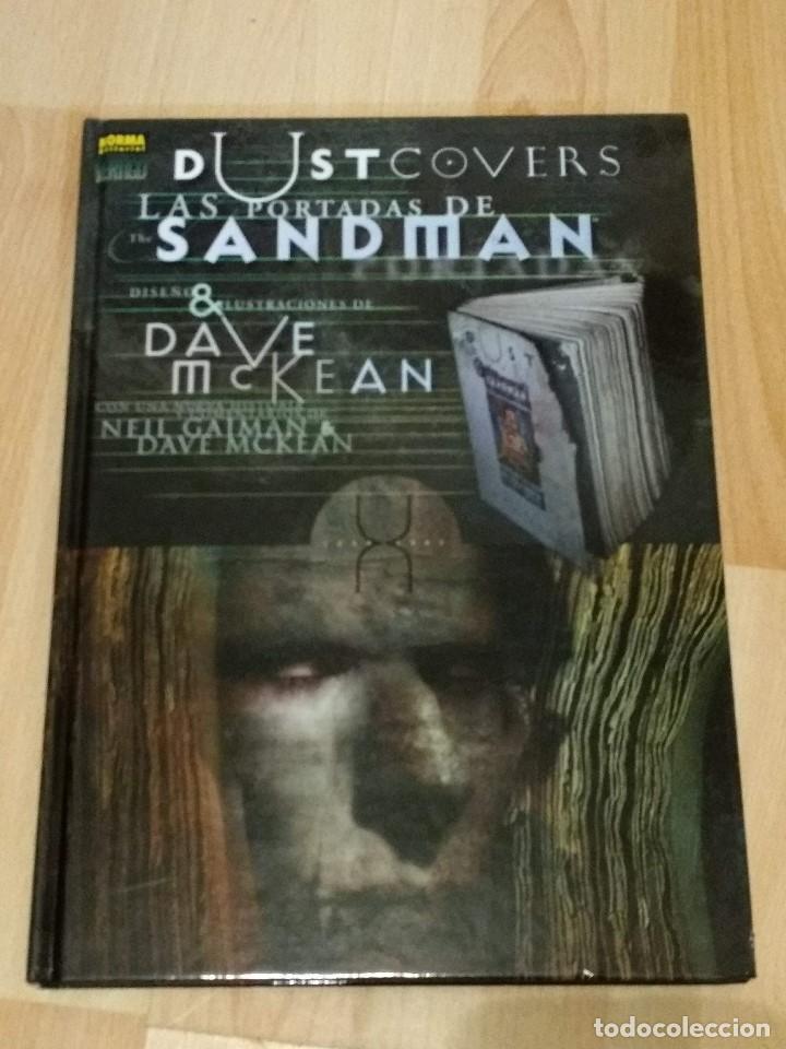 DUSTCOVERS SANDMAN DE DAVE MCKEAN (Tebeos y Comics - Norma - Otros)