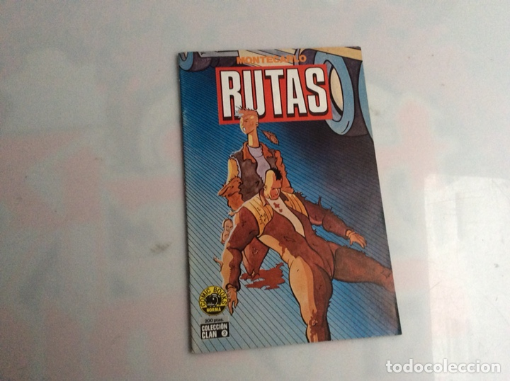 RUTAS. MONTECARLO. COLECCIÓN CLAN Nº 2. COMIC BOOKS NORMA. (Tebeos y Comics - Norma - Otros)