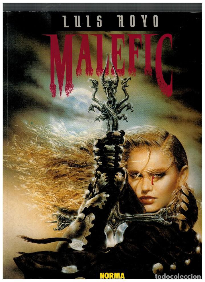 MALEFIC,DE LUIS ROYO. PRIMERA EDICIÓN: AGOSTO DE 1994. EXCELENTE. (Tebeos y Comics - Norma - Otros)