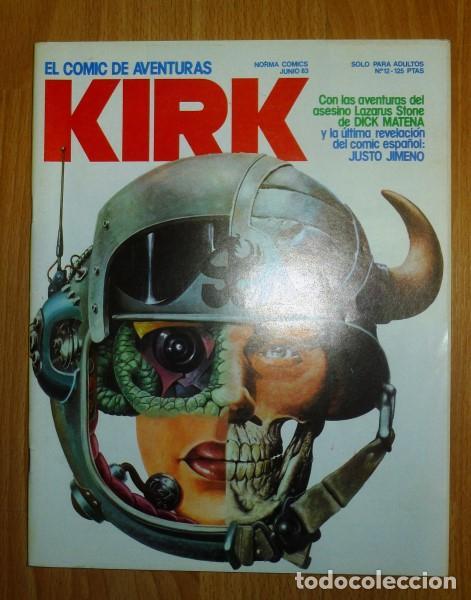 KIRK : EL COMIC DE AVENTURAS. NÚM. 12 ; JUNIO 83 (Tebeos y Comics - Norma - Otros)