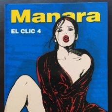 Cómics: EL CLIC 4 MILO MANARA NORMA EDITORIAL 2001 TAPA DURA. Lote 147614378