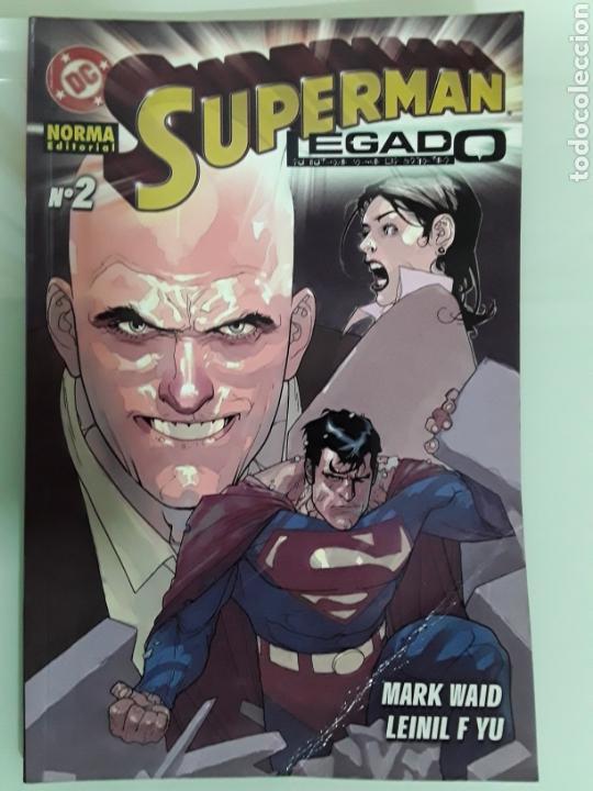 SUPERMAN LEGADO 2 A ED NORMA. NUEVO (Tebeos y Comics - Norma - Otros)