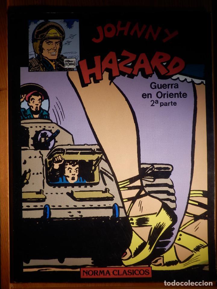 COMIC - JHONNY HAZARD - FRANK ROBINS - GUERRA EN ORIENTE 2ª PARTE - NORMA (Tebeos y Comics - Norma - Otros)