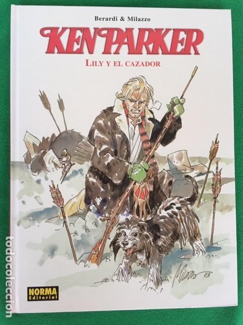 KEN PARKER - LILY Y EL CAZADOR - ED. NORMA (Tebeos y Comics - Norma - Otros)