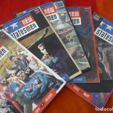 Cómics: NEW STATESMEN LOS NUEVOS DIOSES NºS 1 AL 5 ( JOHN SMITH ) ¡COMPLETA! ¡BUEN ESTADO! NORMA 1991 . Lote 147891214