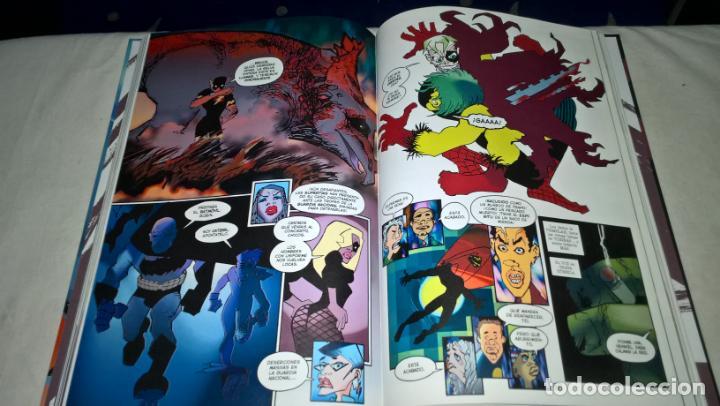 Cómics: COMIC: BATMAN: EL SEÑOR DE LA NOCHE CONTRAATACA completa tomo tapa dura FRANK MILLER /BARLEY (ABLN) - Foto 2 - 147950002