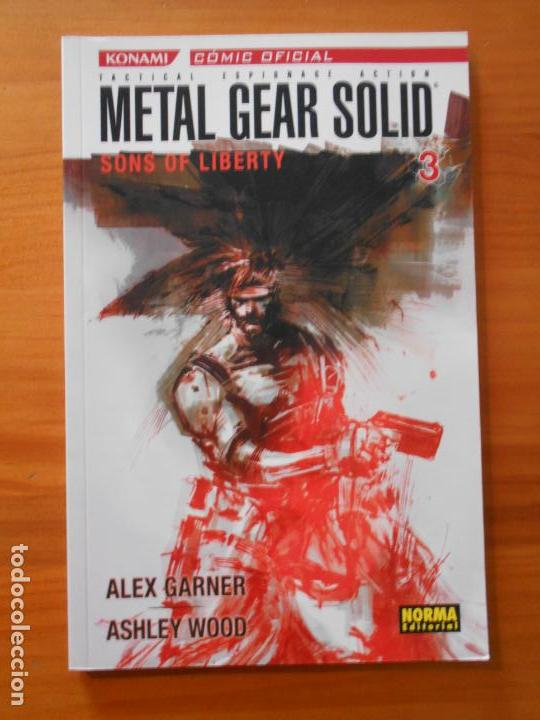 METAL GEAR SOLID Nº 3 - SONS OF LIBERTY - NORMA (EZ) (Tebeos y Comics - Norma - Comic USA)