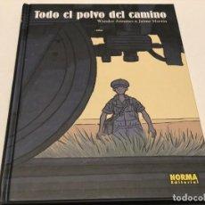 Cómics: TODO EL POLVO DEL CAMINO, WANDER ANTUNES / JAIME MARTÍN. Lote 148055606