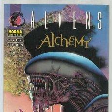 Cómics: ALIENS: ALCHEMY, 2003, NORMA, BUEN ESTADO. RICHARD CORBEN. Lote 148089666