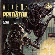 Cómics: ALIENS VS PREDATOR Nº 4. Lote 148104634