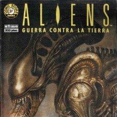 Cómics: ALIENS GUERRA CONTRA LA TIERRA Nº 1. Lote 148105062