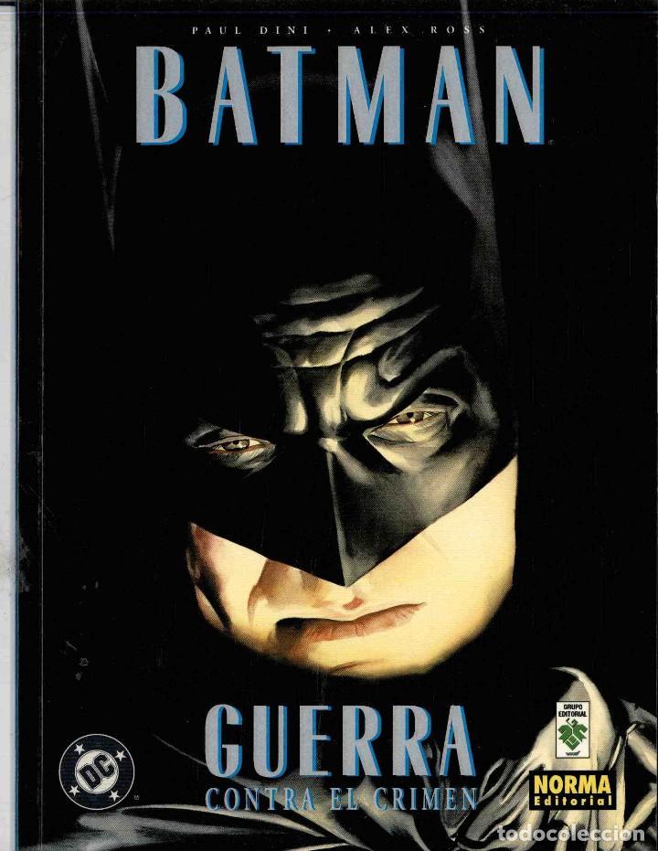 BATMAN GUERRA CONTRA EL CRIMEN (Tebeos y Comics - Norma - Comic USA)
