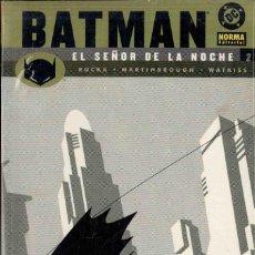 Cómics: BATMAN EL SEÑOR DE LA NOCHE NºS 2 Y 3. Lote 148108218