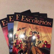 Cómics: EL ESCORPIÓN, DESBERG / ENRICO MARINI, TOMOS 1 A 4. Lote 148178394