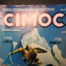 Cómics: CIMOC- ES EL Nº 1- 1980. Lote 148188678