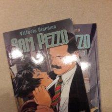 Cómics: SAM PEZZO, VITORIO GIARDINO, COMPLETA (2 TOMOS, COLECCIÓN NOIR). Lote 148315446