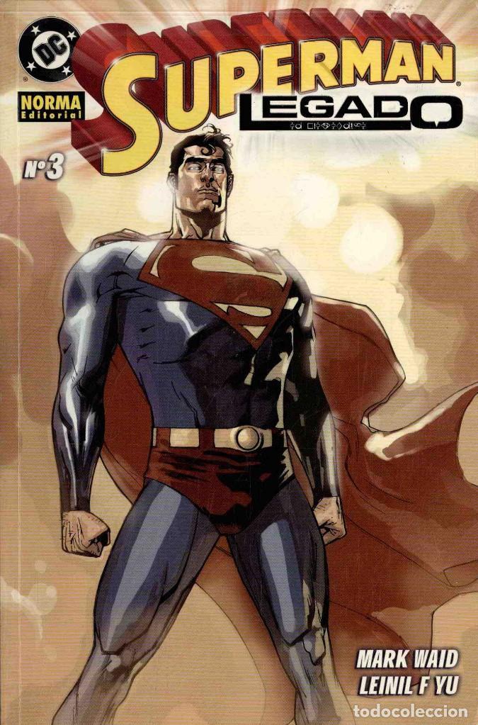 SUPERMAN LEGADO Nº 3 (Tebeos y Comics - Norma - Comic USA)
